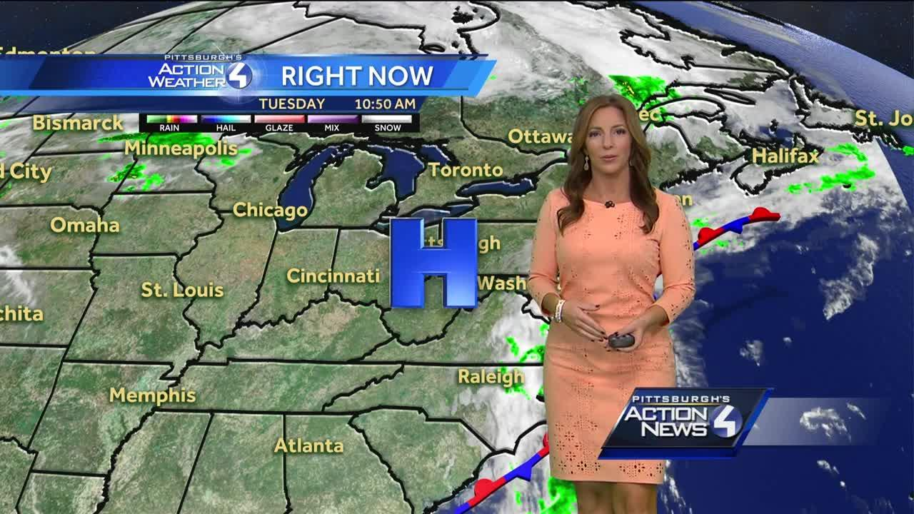 Pittsburgh's Action Weather noon forecast