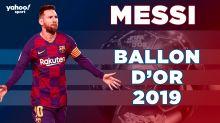 Lionel Messi élu Ballon d'Or 2019 !