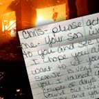 'Your son wants to see you': California wildfire message board reveals families' heartache