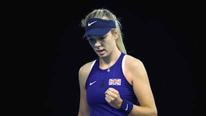 Katie Boulter plays winning hand for Great Britain in Billie Jean King Cup