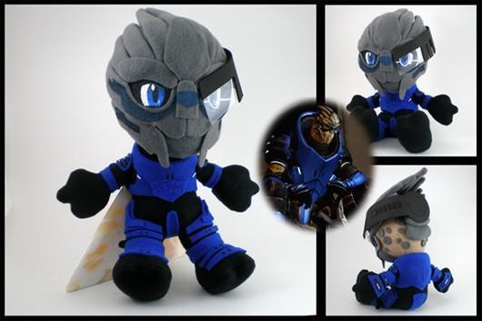 Garrus Plushie turns Mass Effect's ugliest dude into an adorable doll