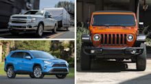 The 25 Best-Selling Cars, Trucks, and SUVs of 2018