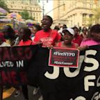 Hundreds Protest in New York City Five Years After Eric Garner`s Death