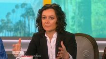 'Roseanne' star Sara Gilbert believes TV daughter Emma Kenney is 'setting a great example' by seeking treatment