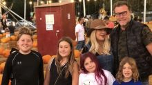 Tori Spelling mom-shamed over 8-year-old daughter's purple hair in Halloween pic: 'Parenting gone wrong'