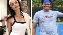 Tennis WAG's brutal response to rival 'fat-shaming' boyfriend