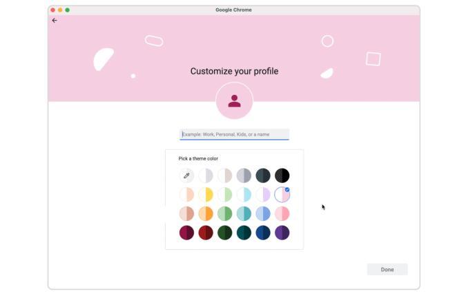 google chrome profiles