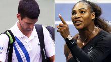 Serena Williams 'hypocrisy' exposed in Novak Djokovic scandal