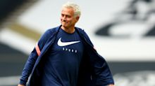 Mourinho sets difficult Tottenham targets as he marks 20 years in management