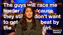 NASCAR driver Julia Landauer describes thriving in a male-dominated industry