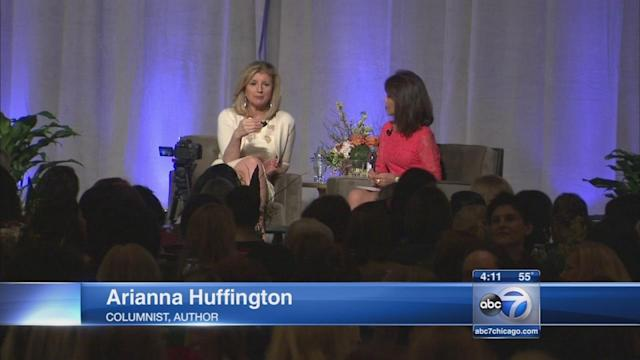 Arianna Huffington offers Chicagoans advice on how to 'Thrive'