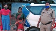 #GoodNews: 4-yr-old found on board bus in Telangana, police reunite girl with family within hours