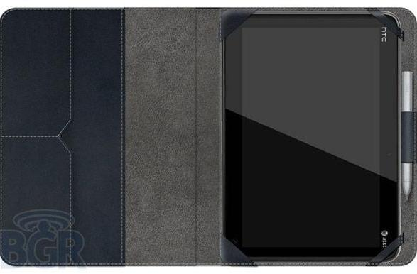 HTC Puccini tablet shots leak out with AT&T branding, may sport stylus functionality