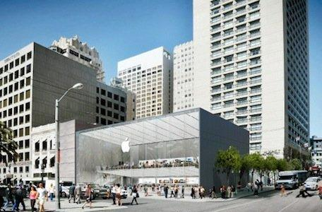 SF officials want changes to proposed Apple flagship store design