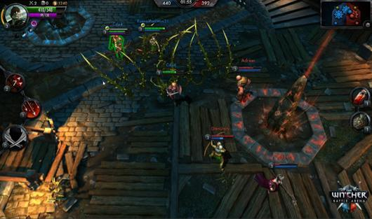 Witcher mobile MOBA cast on tablets later this year