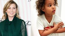 Ellen Pompeo's daughter complains little brother is 'testing' her in cute video