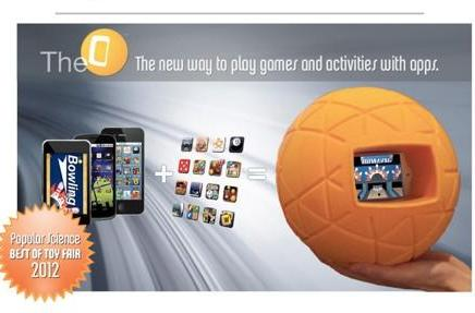 TheO is a ball that lets you toss your iPhone for fun
