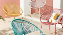 These statement outdoor chairs will brighten any garden (and are an absolute bargain)