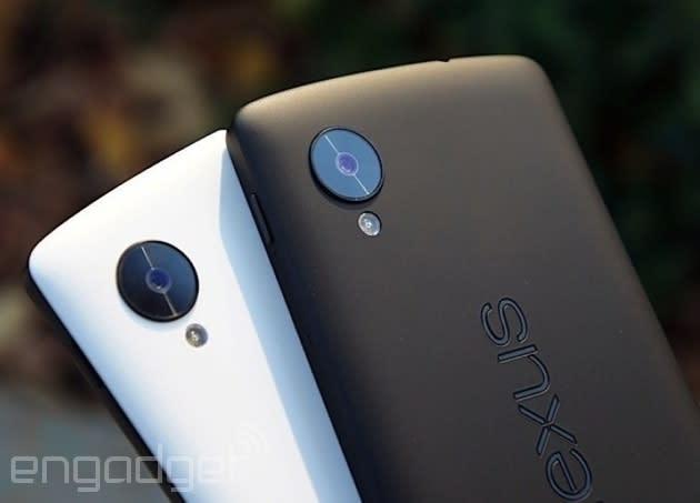 Google expands Nexus 5 and Nexus 7 sales to more European countries