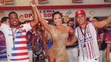 Os figurinos poderosos de Gracyanne Barbosa no pré-Carnaval
