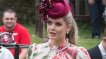 Lady Kitty Spencer Attends Family Wedding