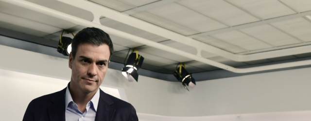Pedro Sanchez, Spain's fallen Socialist chief