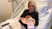 Ana Maria Braga ganha bolo surpresa durante quimioterapia