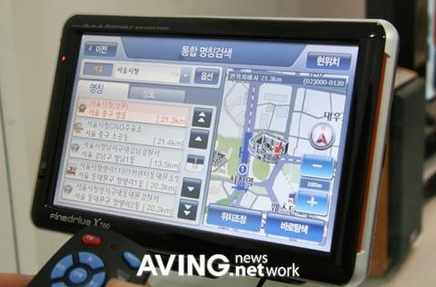 FineDigital showcases voice-recognizing FineDrive X700 GPS