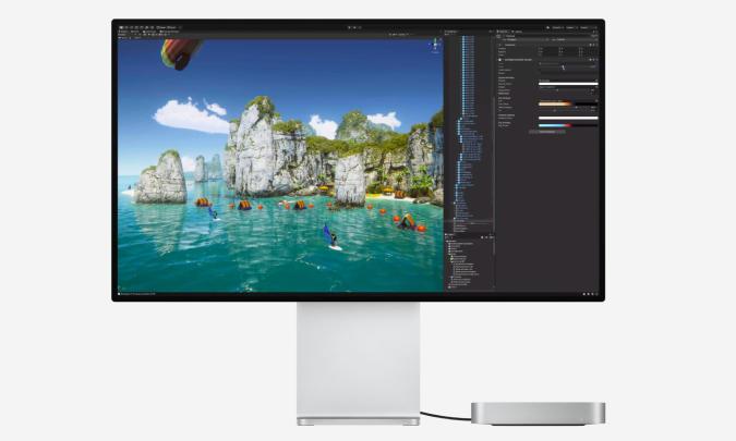Apple's new Mac Mini with M1.