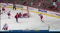 Jeff Skinner roofs one past Grubauer