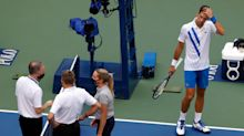 Novak Djokovic hits ball at US Open line judge: How the incident unfolded, what was said and the tennis world's reaction