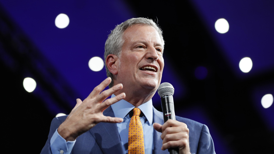 NYC Mayor de Blasio drops out of White House race