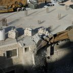 Israel demolishes Palestinian homes in Jerusalem area: AFP