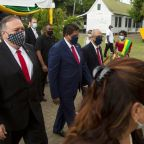 Pompeo pitches US business over China in Suriname, Guyana