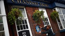 Johnson says to behave when UK pubs reopen