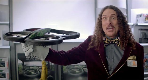 Weird Al wants to sell you a drone