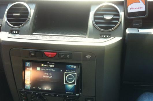 Pioneer demos new iPhone-powered in-dash interface