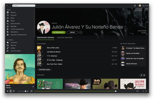 Así es el nuevo Spotify: el servicio de música en streaming se reinventa