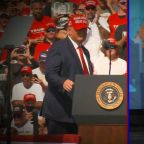 Trump, Biden hold dueling rallies in campaign final stretch