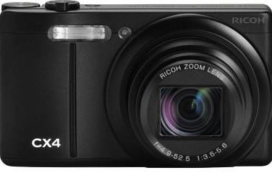 Ricoh's 10 megapixel, 10x zoom CX4 compact hits Japan next month