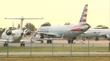 Student pilot boards plane, airport locks down