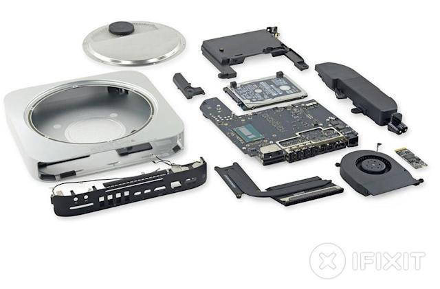 Apple really doesn't want you to upgrade the Mac Mini