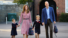 Duchess of Cambridge pairs 'refreshed hairdo' with repeat dress for Charlotte's first day of school
