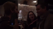 Ted Cruz's dinner was gatecrashed by protesters against Brett Kavanaugh