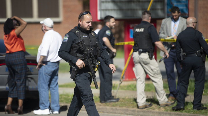 1 killed, police officer injured in high school shooting