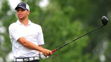 Stephen Curry holds his own in first round of Web.com tournament