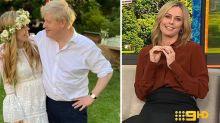 Today host Allison Langdon roasts Boris Johnson's wedding look
