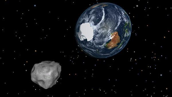 A 150-foot asteroid hurtled through Earth's backyard