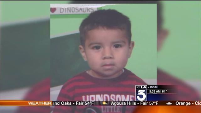 $50,000 Reward to Be Offered in Abduction of 2-Year-Old Boy: LAPD