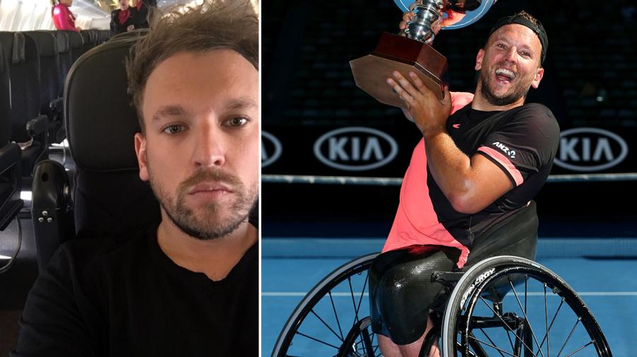 'Inhumane and unfair': Aussie wheelchair champ 'left on plane'